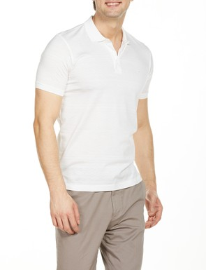 8681946177487 Regular Fit Desenli Polo Yaka T-Shirt