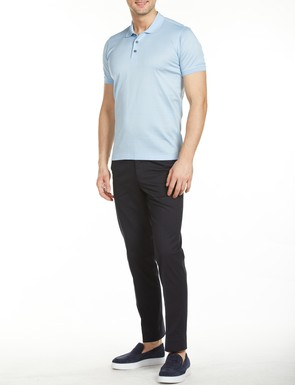8681946177548 Regular Fit Desenli Polo Yaka T-Shirt