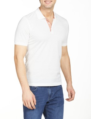 8681946176466 Regular Fit Desenli Polo Yaka T-Shirt