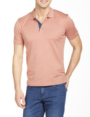 8681946176527 Regular Fit Desenli Polo Yaka T-Shirt