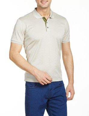 8681946176640 Regular Fit Desenli Polo Yaka T-Shirt