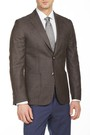 8681946193432 Regular Fit 6 Drop Platinum Blazer Ceket