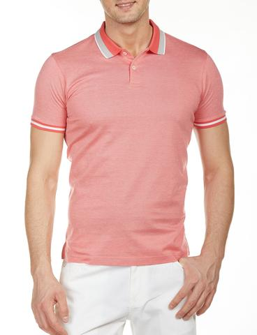 Slim Fit Düz Polo Yaka T-Shirt