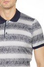 8680802924227 Regular Fit Desenli Polo Yaka T-Shirt