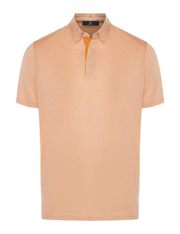 Regular Fit Desenli Polo Yaka T-Shirt