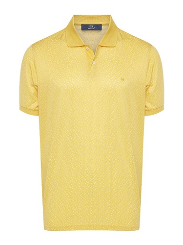 8680802923640 Regular Fit Desenli Polo Yaka T-Shirt