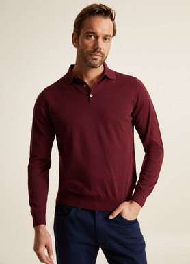 8681946253891 Regular Fit Düz Polo Yaka Triko
