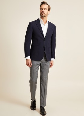 8681946248613 Regular Fit 6 Drop Platinum Blazer Ceket