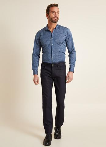 Slim Fit Lacivert Jean Pantolon