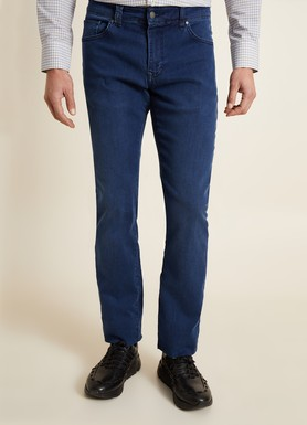 8681946252634 Regular Fit Lacivert Jean Pantolon