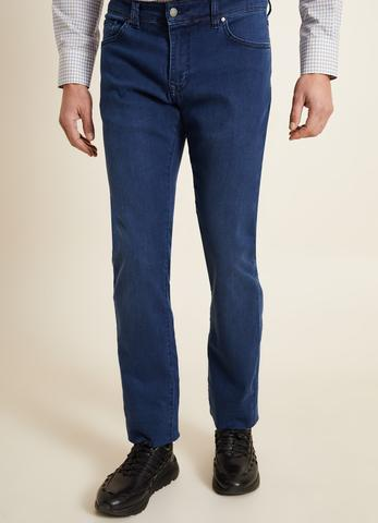Regular Fit Lacivert Jean Pantolon