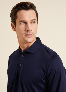 8681946009559 Regular Fit Manşetli Polo Yaka Sweatshirt